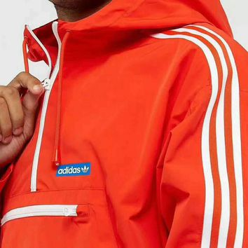 Adidas Fashion Zipper Cardigan Sweatshirt Jacket Coat Windbreaker Sportswear G-A-GHSY-1