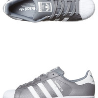 ADIDAS ORIGINALS SUPERSTAR SHOE - GREY WHITE GREY