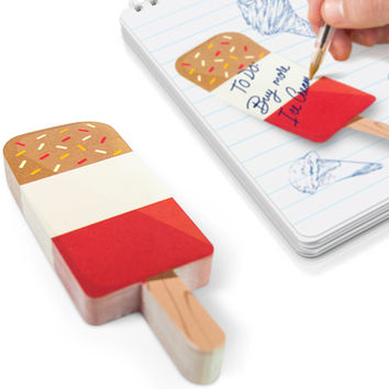 ICE CREAM BAR STICKY NOTES