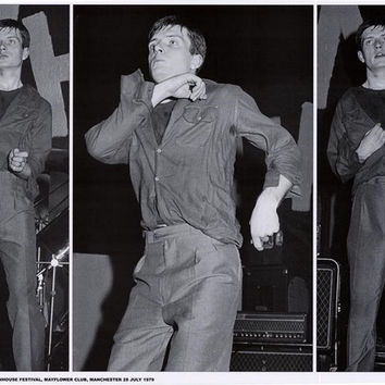 Joy Division Ian Curtis Manchester 1979 Poster 24x33