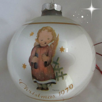 Berta Hummel Starlight Angel Schmid Gallery 1979 Vintage Christmas Ornament