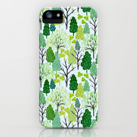 Trees iPhone & iPod Case by Sian Keegan