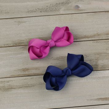 Small Twisted Boutique Hair-Bow