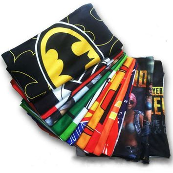 Deadpool Dead pool Taco DC Superhero Movie The Avengers Game PUBG Iron Man  Batman Captain America Cosplay Costumes Props Bath Towel Gift AT_70_6