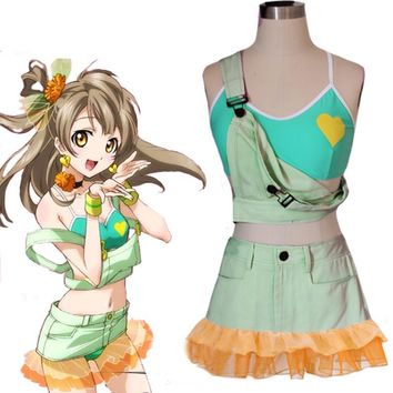 Girls Lovelive School Idol Project Kotori Minami Cosplay maid Swimwear Love Live! Unawakened Swimming suit Costume dress Rompers