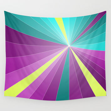 Rays abstract Wall Tapestry by EDrawings38