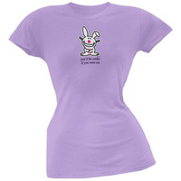 Happy Bunny - Be Cooler Juniors T-Shirt