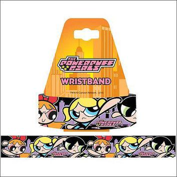 The Powerpuff Girls Blossom Bubbles Buttercup Bracelet Wristband Strap LICENSED