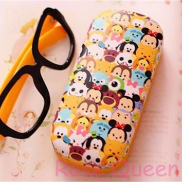 TSUM TSUM Glasses New Case eyeglasses cases boxes One piece retail Mike Sully Mick Jack Toy story cute gifts free shipping