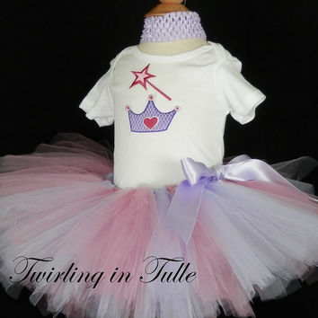 Birthday Princess Tutu Size 0-24M