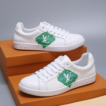 LV   Fashion Men Casual Running Sport Shoes Sneakers Slipper Sandals