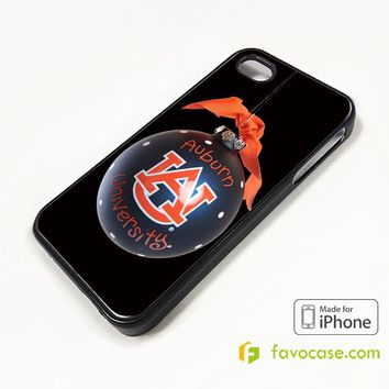 AUBURN UNIVERSITY WAR EAGLE 2PACK iPhone 4/4S 5/5S/SE 5C 6/6S 7 8 Plus X Case Cover