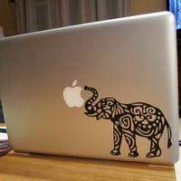 Elephant Laptop Decal