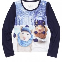 Embellished Critter Tee | Girls Tops Clothes | Shop Justice