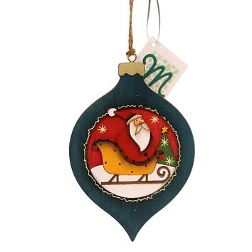 Holiday Ornaments WOOD ORNAMENTS Wood Package Holiday 144259 X