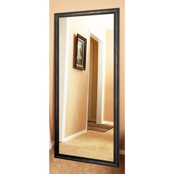 "Brandt Works Clouded Bronze Floor Mirror BM013T 30""x69"""