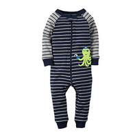 Carter's® Striped Footless Pajamas - Toddler Boys 2t-5t