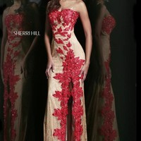 Sherri Hill Dress 9817 at Prom Dress Shop
