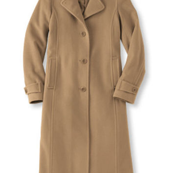 Classic Lambswool Polo Coat, Long: Casual Jackets | Free Shipping at L.L.Bean