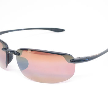Maui Jim Hookipa H407-02 Gloss Black Polarized Sunglasses