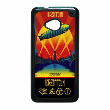 Led Zeppelin Poster HTC One M7 Case