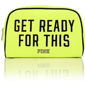 Fashion Show Large Makeup Bag - PINK - Victoria's Secret