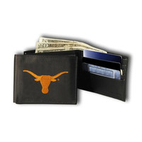 Texas Longhorns NCAA Embroidered Billfold Wallet