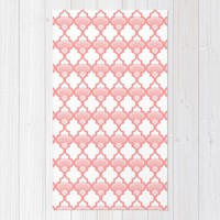 Peach bloom Rug by Heaven7 | Society6