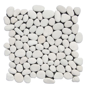 White Pebble Tile