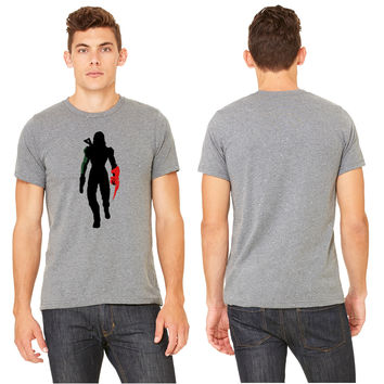 Commander Shepard [Female] Silhouette T-shirt