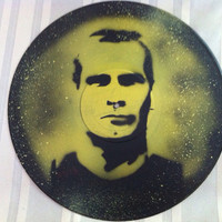 Henry Rollins Record Painting
