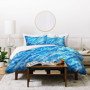 Rosie Brown True Blue Duvet Cover