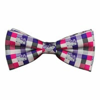 JapanLA - Hello Kitty Bow Tie - Pink Plaid