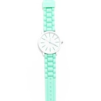 Simple Face Rubber Band Watch