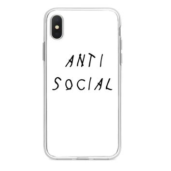 ANTI SOCIAL CUSTOM IPHONE CASE