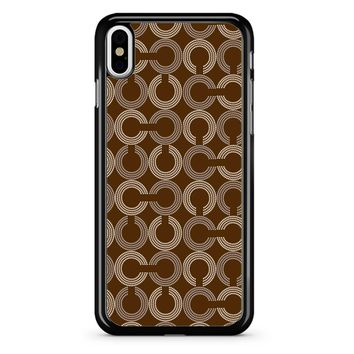 Coach Pattern 2 iPhone X Case