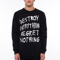 Glamour Kills - Regret Nothing Crew Fleece