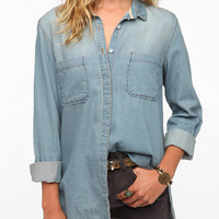 Urban Outfitters - BDG Chambray Button-Down Tunic