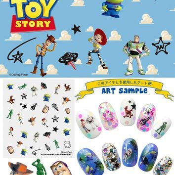 4pcs Disney Pixar Toy Monsters 3D Sticker Nail Art Manicure DIY Taiwan DIS