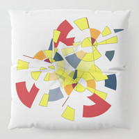 Geometric Mood Floor Pillow by Sagacious Design