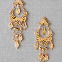 Madalene Filigree Chandelier Earrings