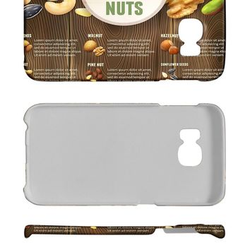 Phone Cover Case suitable for Samsung S6 Edge Nostalgic Fun facts about nuts