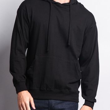 Cross-Dyed Heather Jersey Pullover Hoodie 13104 - R1B
