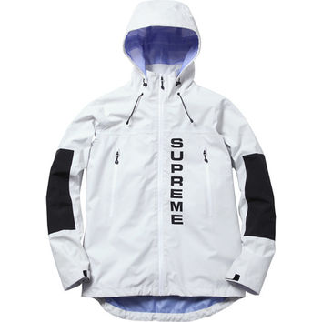 Supreme: Competition Taped Seam Jacket - White