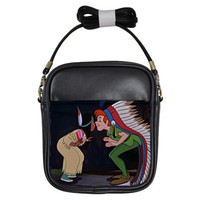 Peter Pan and Tiger Lily Cross Body Bag (Free U.S. Shipping)