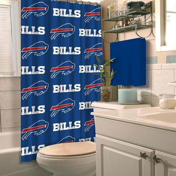 Buffalo Bills NFL Shower Curtain