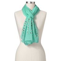 Manhattan Accessories Co. Studded Sheer Scarf