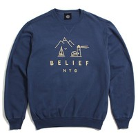 Country Crewneck Sweatshirt Denim