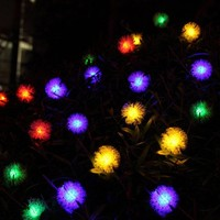 New holiday lamps LED lamp string led lamps 4.8M/20PCS led light christmas lights outdoor Holiday christmas decorations for home