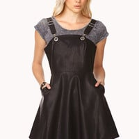 Rebel Darling Overall Dress
